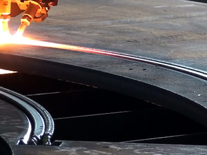 Multi prep gas bevelling at Murray Steel Products