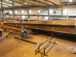 Murray's steel processing team has worked on multiple jobs for the project fabricators