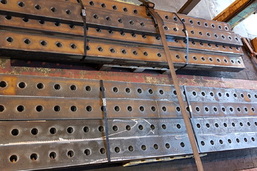 Steel profiling and processing by Murray Steel Products