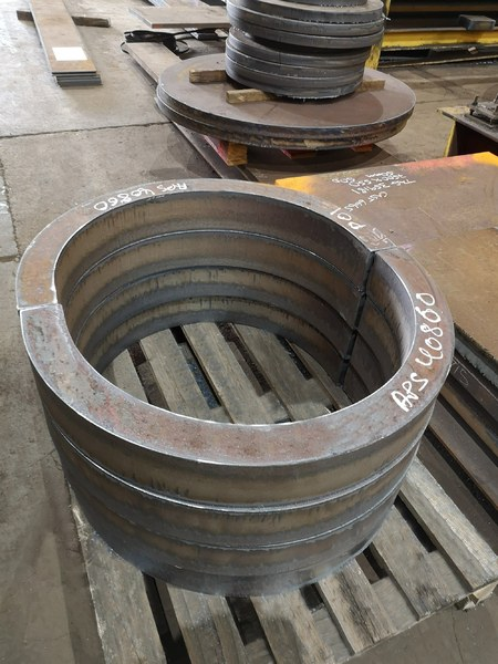 S355G10+N Profiles for offshore from Murray Steel Products
