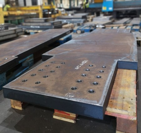 S355J2 and S460NL Drilled Steel Plate from Murray Steel Products