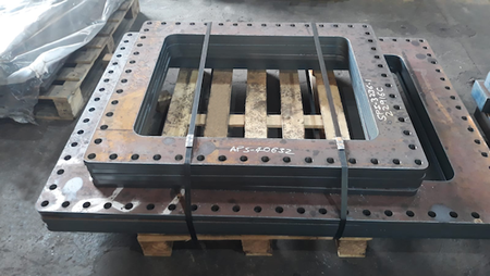 S275JR Rectangular Flanges from Murray Steel Products