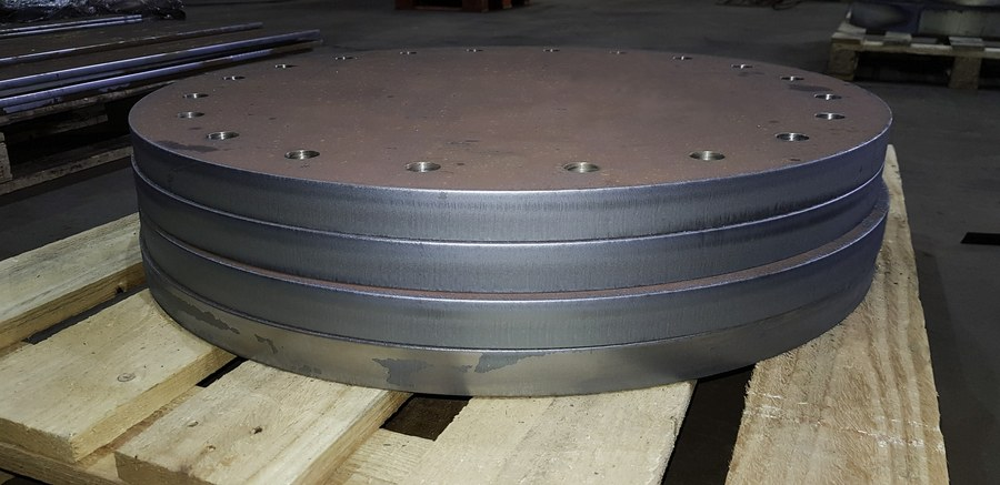 Drilled Steel Blanking Plates 2