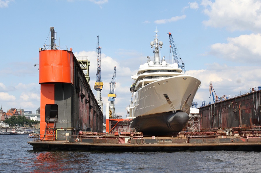 Steel supply for shipbuilders and repairers